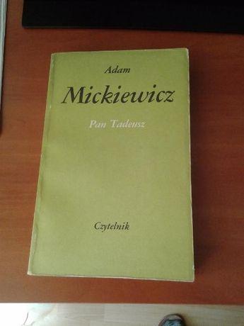 """lektura """"Pan Tadeusz"""""""