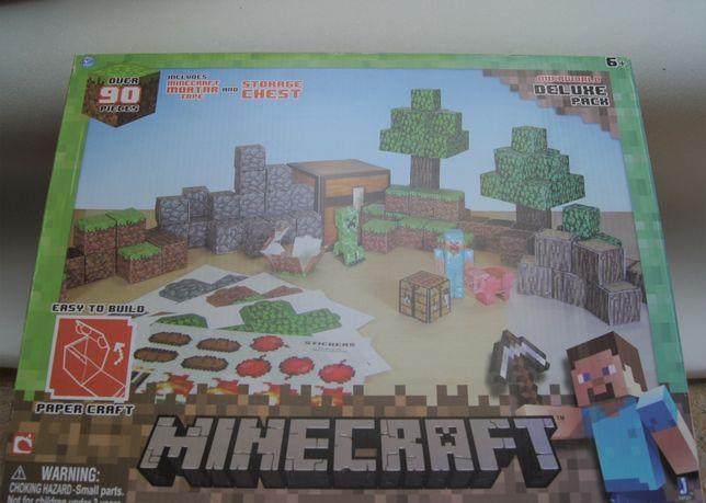 Minecraft - Paper Craft - zestaw dużych kartoników POLECAM!!!