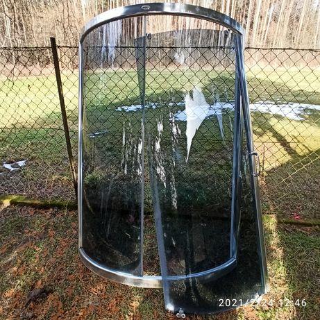 Szklana kabina prysznicowa + brodzik