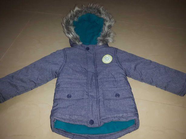 Kurtka zimowa r.92 kurteczka dziecięca szalik gratis