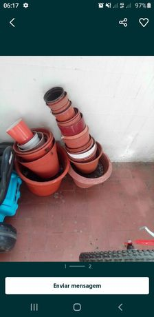 Varios vasos varios tamanhos