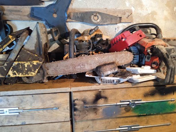 Tenho diversas peças de várias marcas de motosserras