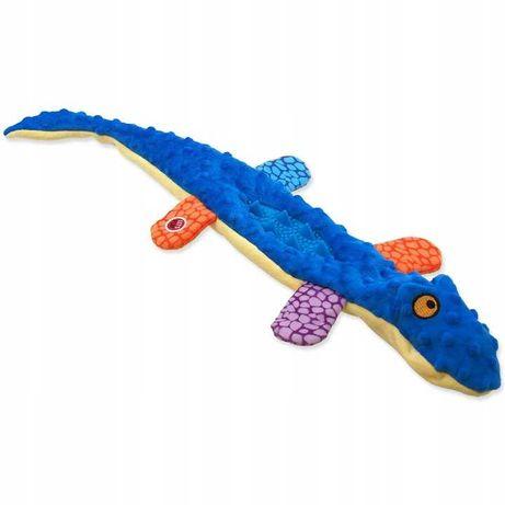 Zabawka dla psa SZELESZCZĄCA PISZCZĄCA Jaszczurka 60cm!!! KOLORY