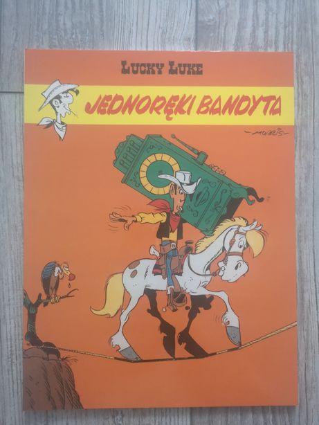 Komiks pt Lucky Luke Jednoręki Bandyta tom 48