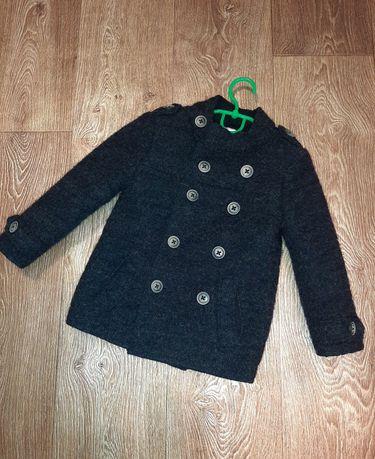Стильное пальто ZARA шерсть