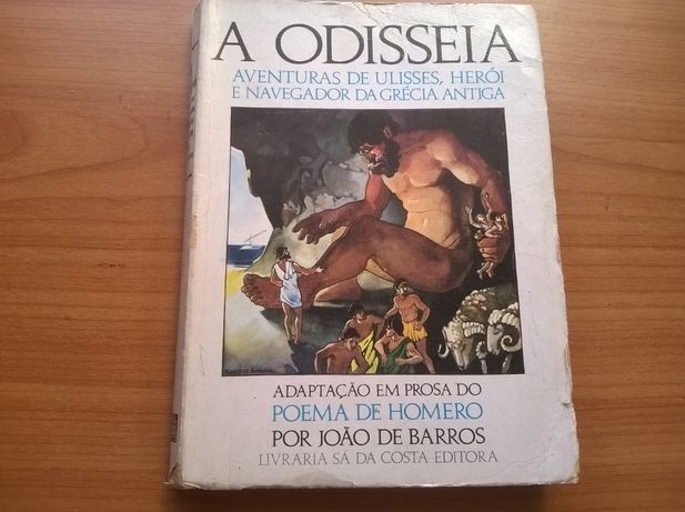 A Odisseia (de Homero) - Adaptação de João de Barros