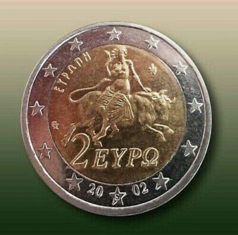 "Moeda Rara 2 Euro 2002/""s ""No Star/Unc."