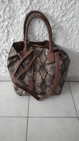 Torebka/ torba z imitacji żmiji