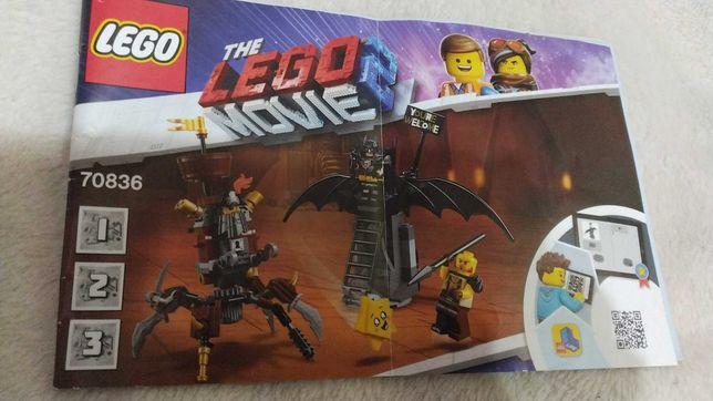 Конструктор LEGO Movie 2 Боевой Бэтмен и Железная борода (70836)