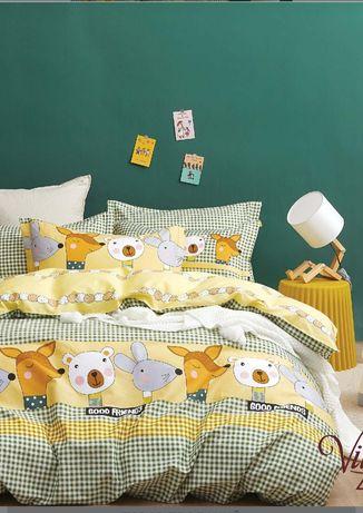 Комплект постельного белья детский в кроватку viluta