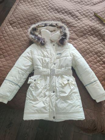 Зимнее пальто lenne в идеальном состоянии 128 (на 134)