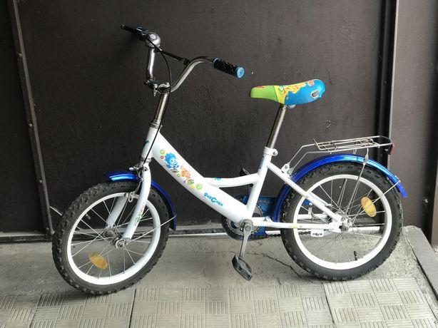Продам детский двухколёсный велосипед (колёса 16 дюймов)