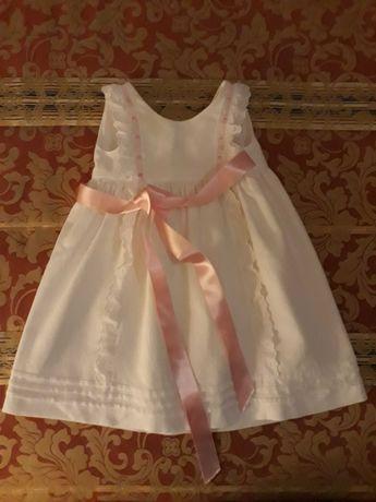 Vestido Cerimonia Recém-Nascido - NOVO