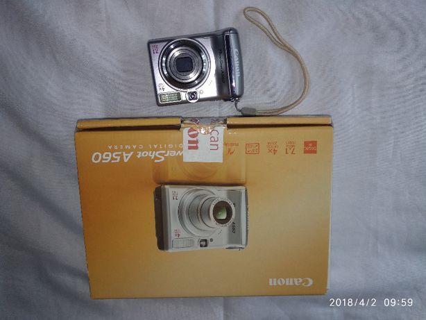 Canon Power Shot A560 - Maquina Fotografica
