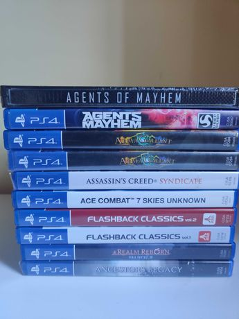 Varios jogos Playstation 4 novos e usados - REF#A