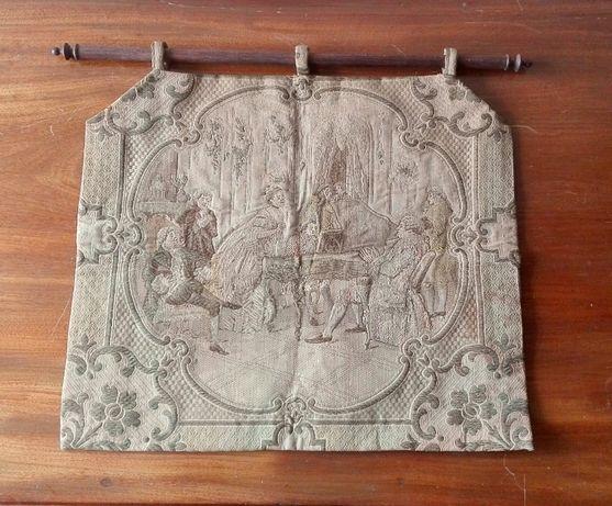 Tapeçaria decorativa. Escola Françesa. Século XVIII