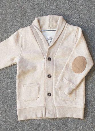 Chlopiecy kardigan, sweter/ bluza. 98 cm.