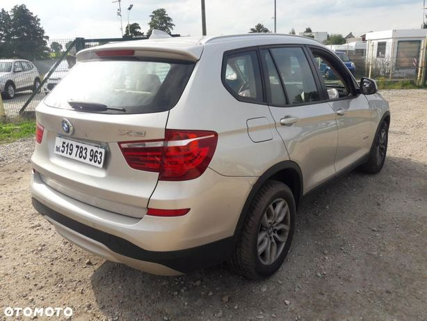 BMW X3 X drive 2.0 diesel 150 km Automatyczna Skrzynia Biegów