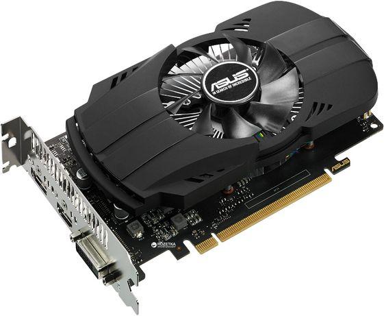НОВА!!! Відеокарта Asus PCI-Ex GeForce GTX 1050 Ti Phoenix 4GB GDDR5