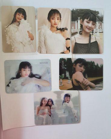 GIDLE I trust Minnie photocard kpop
