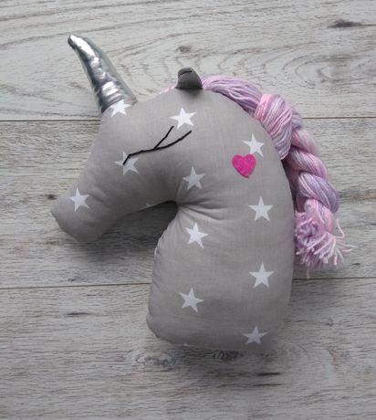 Nowa Poduszka przytulanka jednorożec unicorn