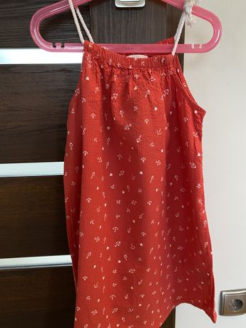 Sukienka w kotwice H&M r.134