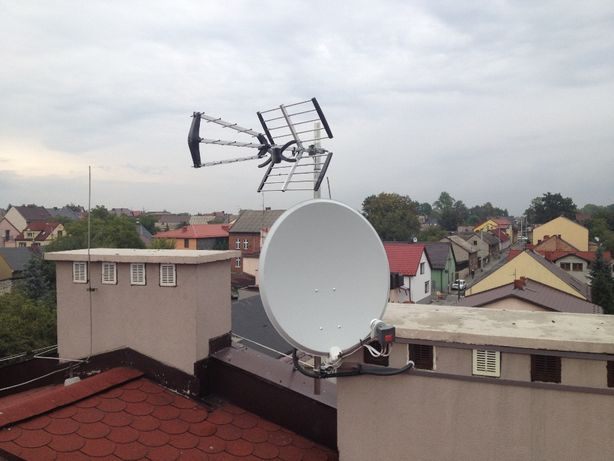 Montaż ustawianie serwis anten od 50 zł