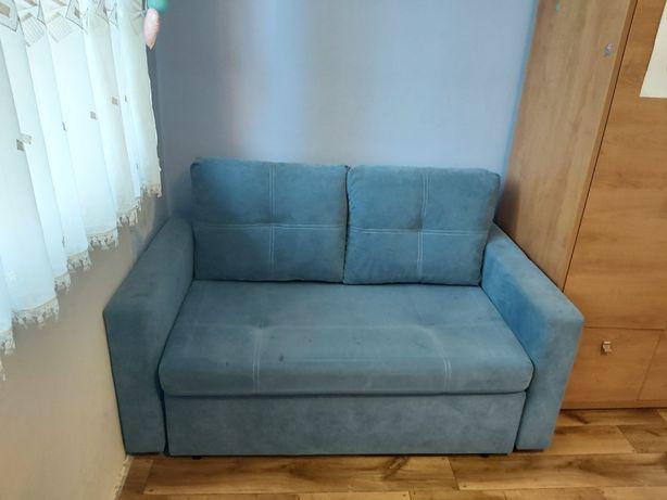 Kanapa / sofa rozkładana z pojemnikiem na pościel