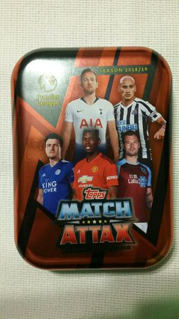 Karty Match Attax Premier League, sezon 2018 /19