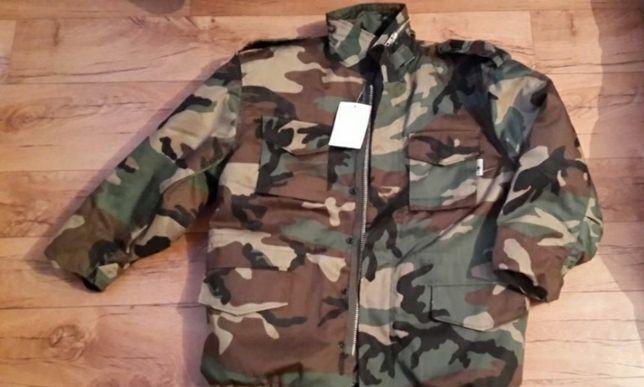 Камуфляж милитари куртка парка M-65 и брюки mil-tec Woodland