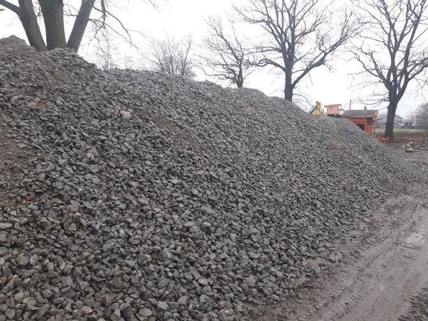 Tłuczeń kruszywo betonowe gruz betonowy betonowo ceglany Osielsko