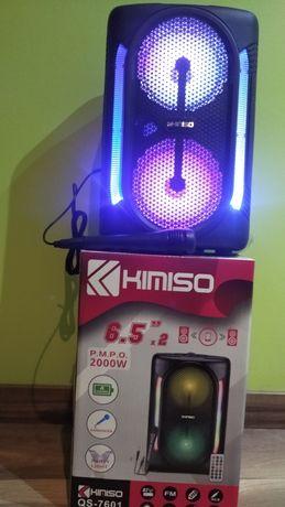 Coluna Bluetooth Speaker USB-MP3 com FM rádio