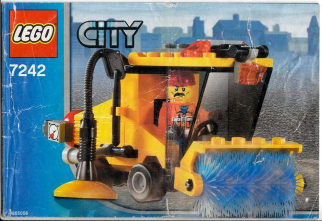 Lego CITY 7242 - Zamiatarka ulic