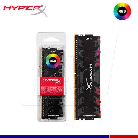 Memória RAM RGB HyperX Predator 16GB DDR4 3200Mhz CL16