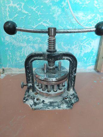Аппарат Шарпа для протяжки гильз и для золота, зуботехнический