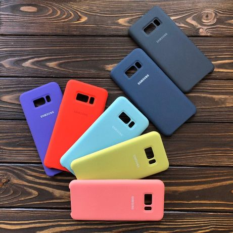 Silicon Case Чехол Samsung S9/S9+/S8+/S7 edge/note8