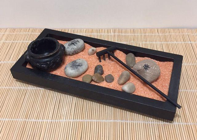 Сад дзен сад камней песочный сад