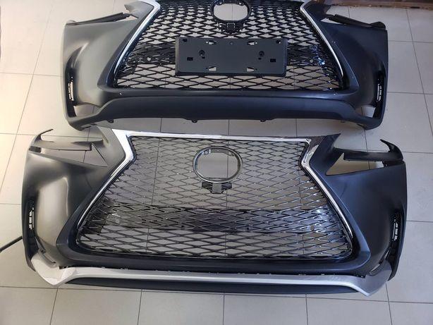 Бампера Lexus RX, бампера NX , ES, CT, F-sport, TRD, решетки радіатора