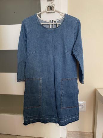Jeansowa sukienka, stradivarius, rozmiar S
