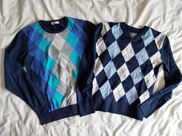 Zestaw sweterków dla chłopca, H&M, rozm. 170 cm