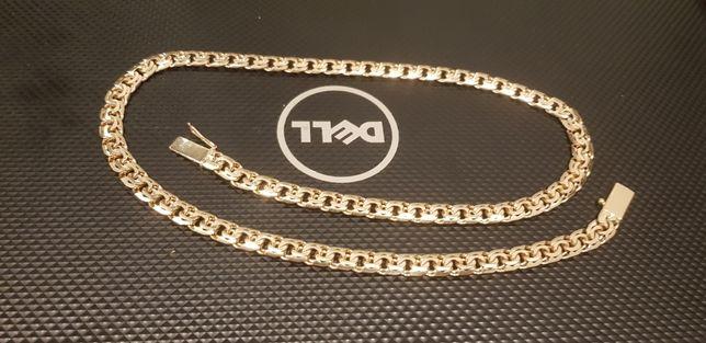 Złoty łańcuszek NOWY, łańcuch ponad 61,1g OCECHOWANY, Galibardi