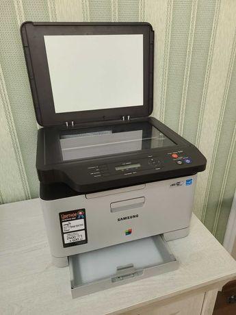 Samsung clx 3305 лазерное цветное МФУ под ремонт