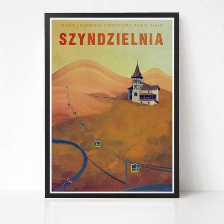 Plakat Szyndzielnia - Bielsko Biała - Beskid Śląski