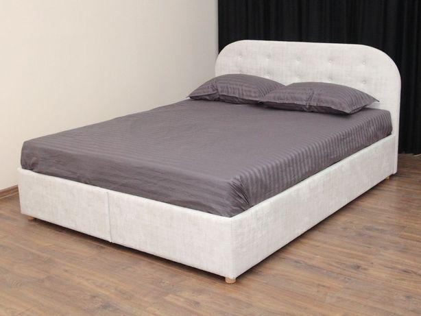 Мягкая двуспальная Кровать Round-2 160Х200 с Подъёмным механизмом