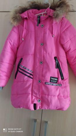 Детская курточка-пуховик