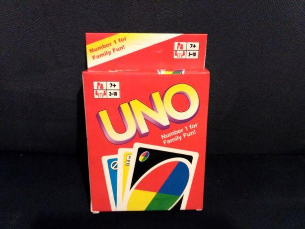 Gra Karciana UNO nowa. Gra dla dzieci i dorosłych.108 kart.Nowe!!
