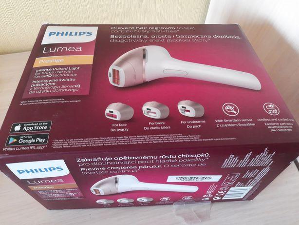 Фотоэпилятор Philips Lumea Prestige BRI956/00 с 4 насадками на гаранти