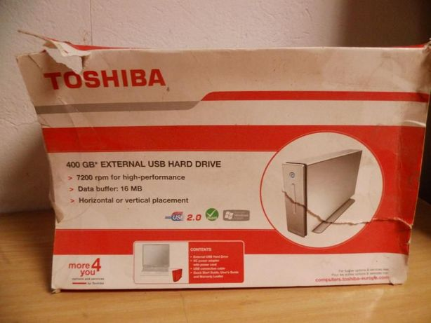 Toshiba dysk 400 GB