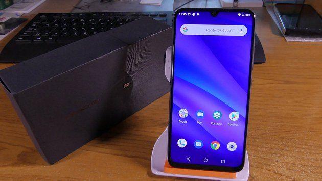 Смартфон телефон Umidigi A5 Pro 6.3 экран IPS слот 2сим и карта памяти