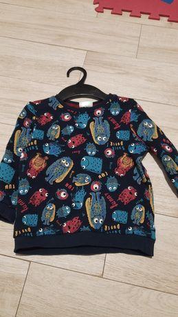 Bluza bluzka granatowa roz 98
